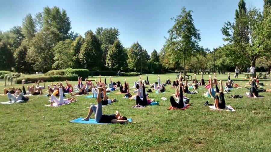 Yoga Open day Parco Iris padova