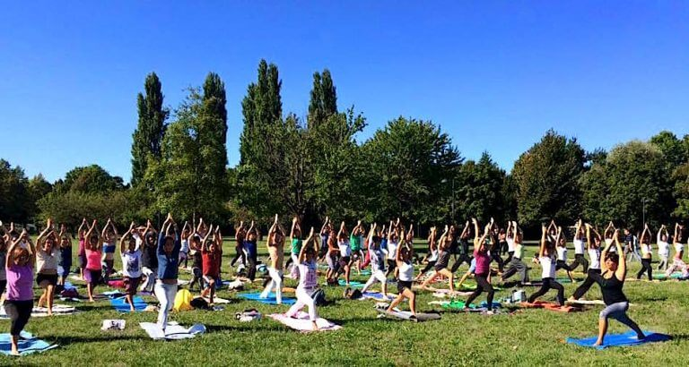 MappaMundi Yoga OpenDay Padova Parco Iris