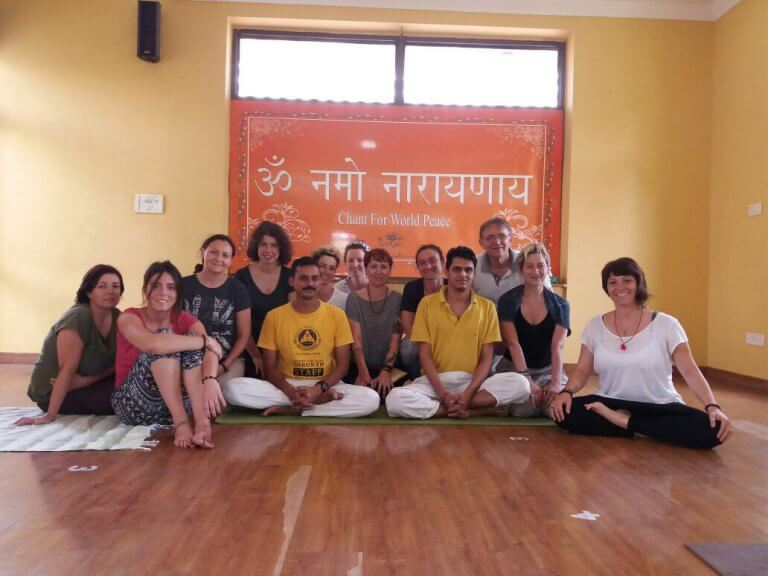 MappaMundi Yoga in India allo Sivananda yoga Vedanta Center di Dwarka, New Delhi