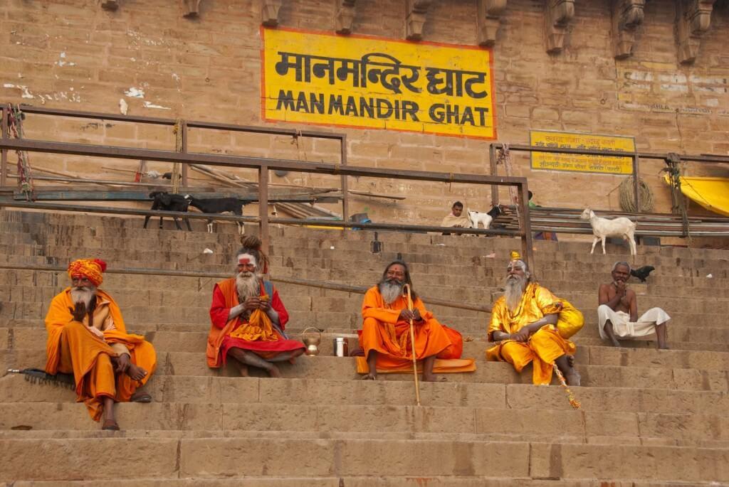 INDIA VARANASI MAPPAMUNDI YOGA HOLIRAM