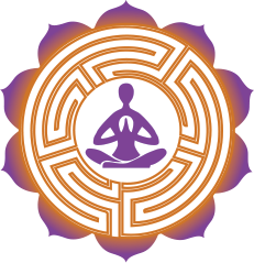 mappamundi yoga logo mandala