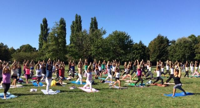 Mappamundi yoga parco iris