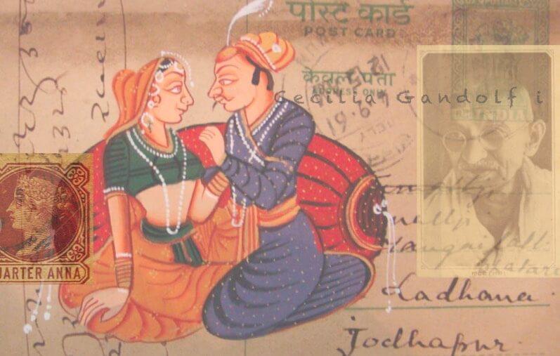 Indian Postcard