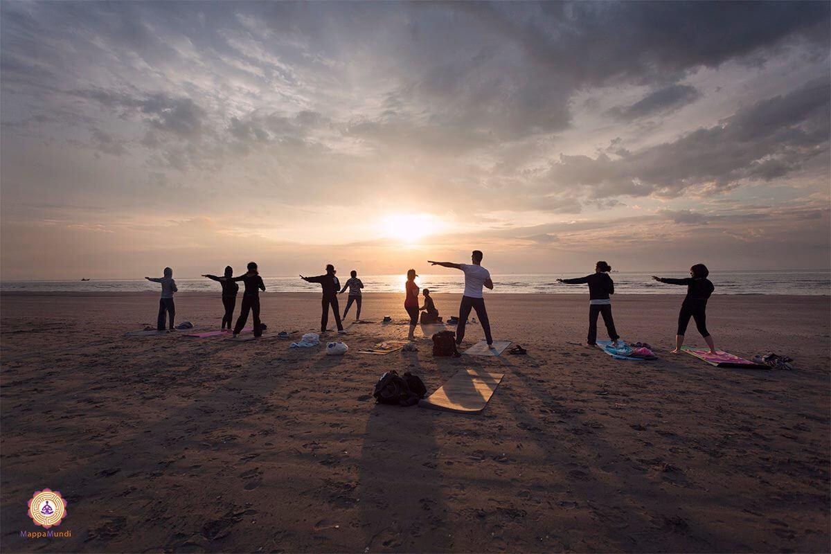 Viaggia Yoga India MappaMundiYoga