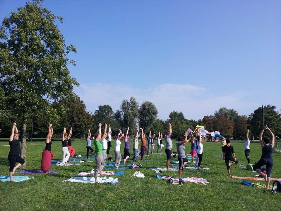 open day mappamundi yoga parco iris padova
