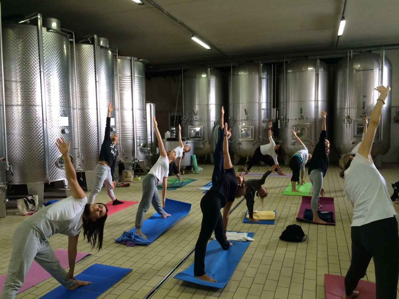 Yoga In Cantina A Valdobbiadene Noi C 39 Eravamo