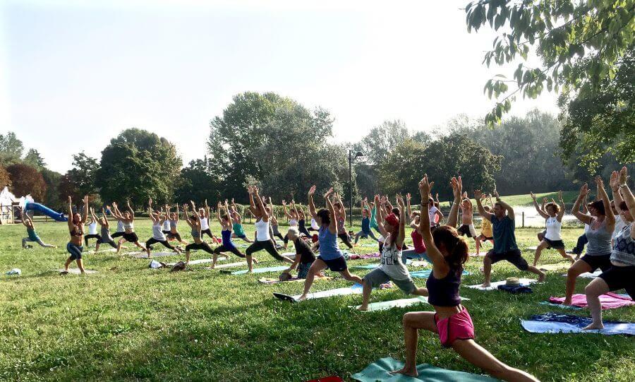 MappaMundi Yoga OpenDay Padova Parco Iris INIZANO i CORSI YOGA