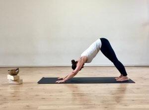 MappaMundi Tutorial Yoga per Adho Mukha Svanasana