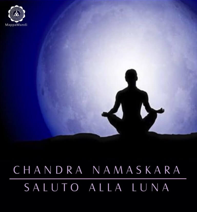 SALUTO alla LUNA Chandra Namaskara MappaMundi Yoga Padova