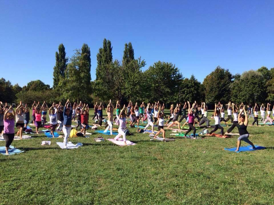 Guerriero 1 Virabhadrasana MappaMundi Yoga
