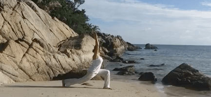 Virabhadrasana 1 Guerriero Yoga MappaMundi