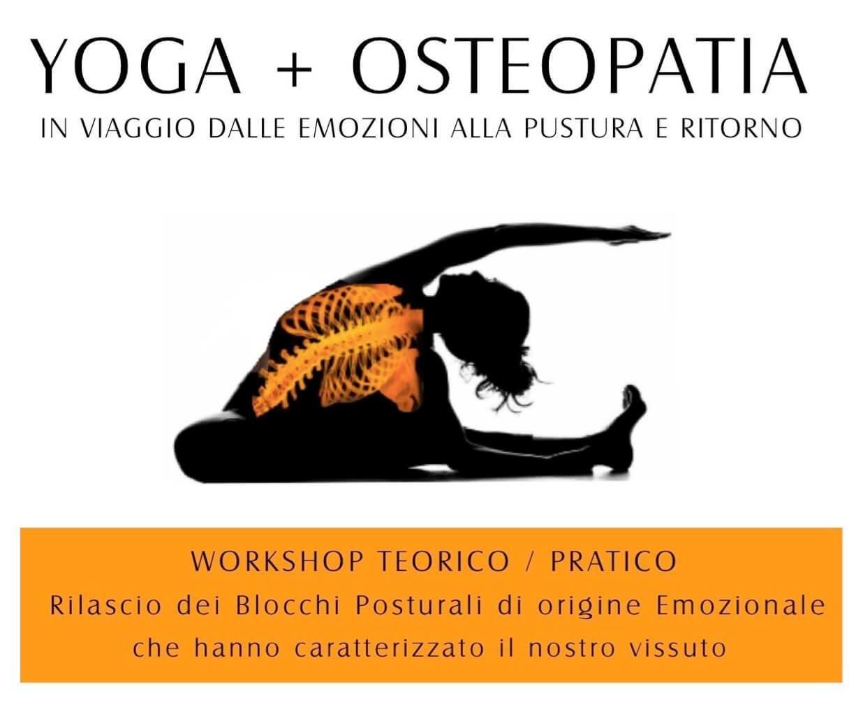 2 serate di YOGA + OSTEOPATIA a MappaMundi Padova