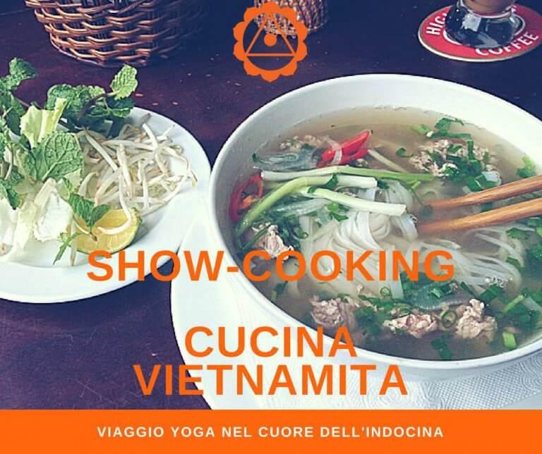 Show cooking di cucina vietnamita PHO, con MappaMundi Yoga e Holiram