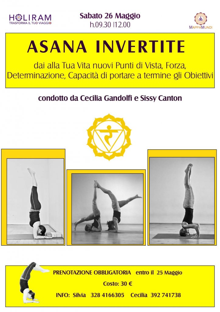 WORKSHOP sulle INVERTITE con MappaMundi Yoga