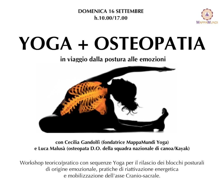 YOGA+OSTEOPATIA a Villa Vescovi Rassegna MappaMundi Yoga in VIlla a cura di Cecilia Gandolfi