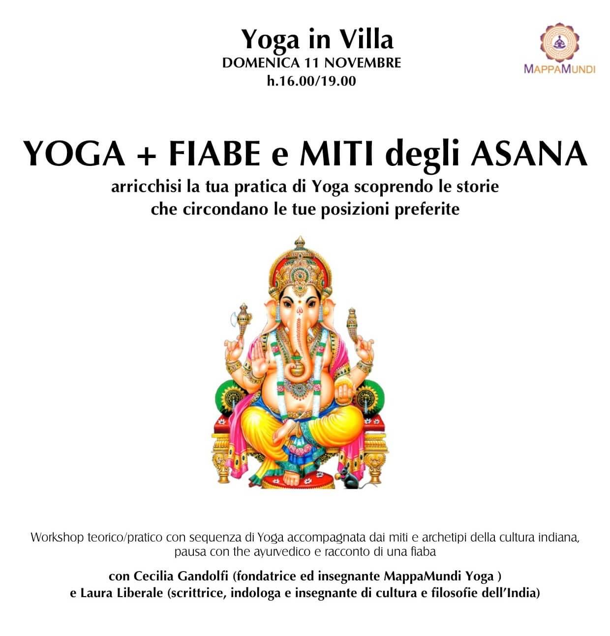 YOGA + FIABE e MITI degli ASANA arricchisi la tua pratica di Yoga scoprendo le storie che circondano le tue posizioni preferite