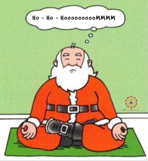 Auguri da MappaMundi Yoga Ho Ho Ommmmm
