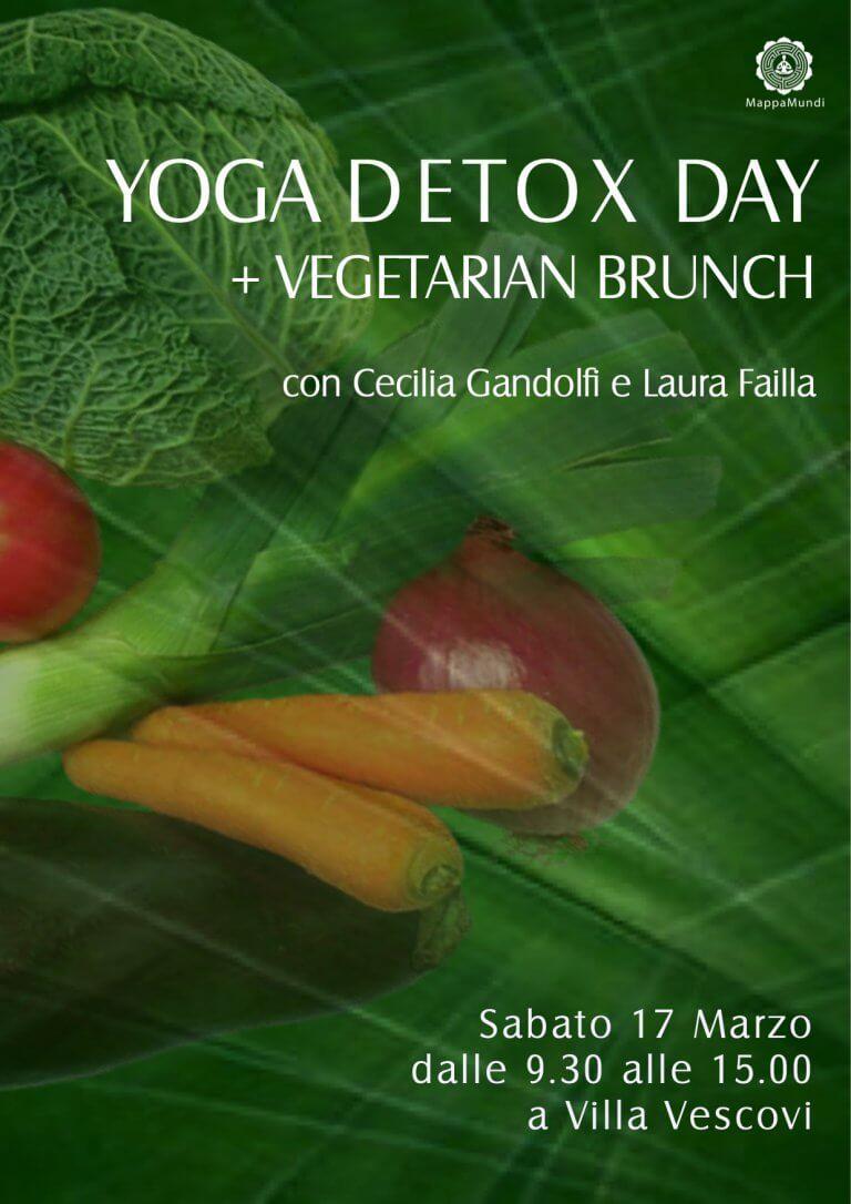 DETOX DAY A VILLA VESCOVI con Cecilia Gandolfi e Laura Failla