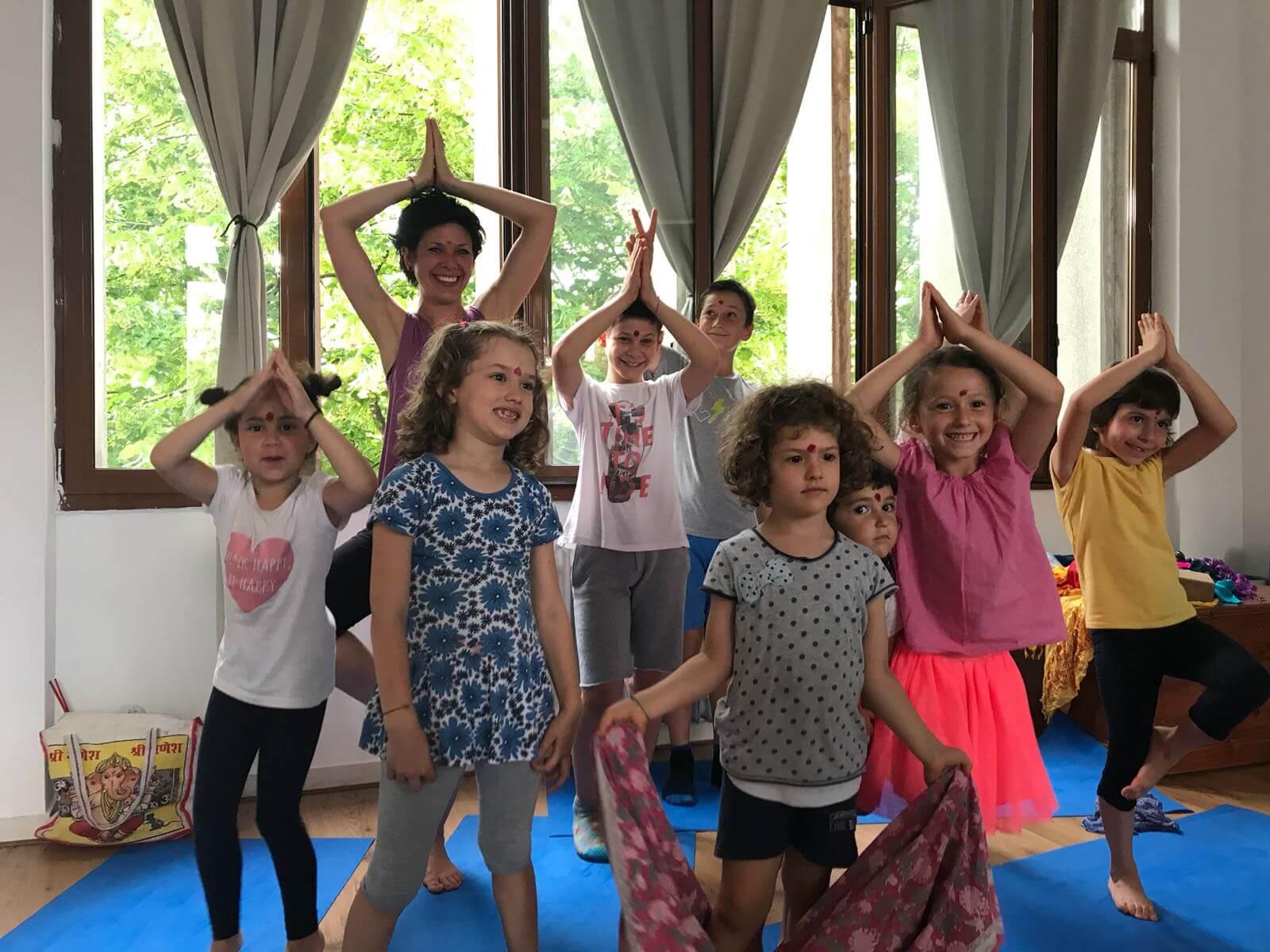 MappaMundi Yoga Bimbi a Padova