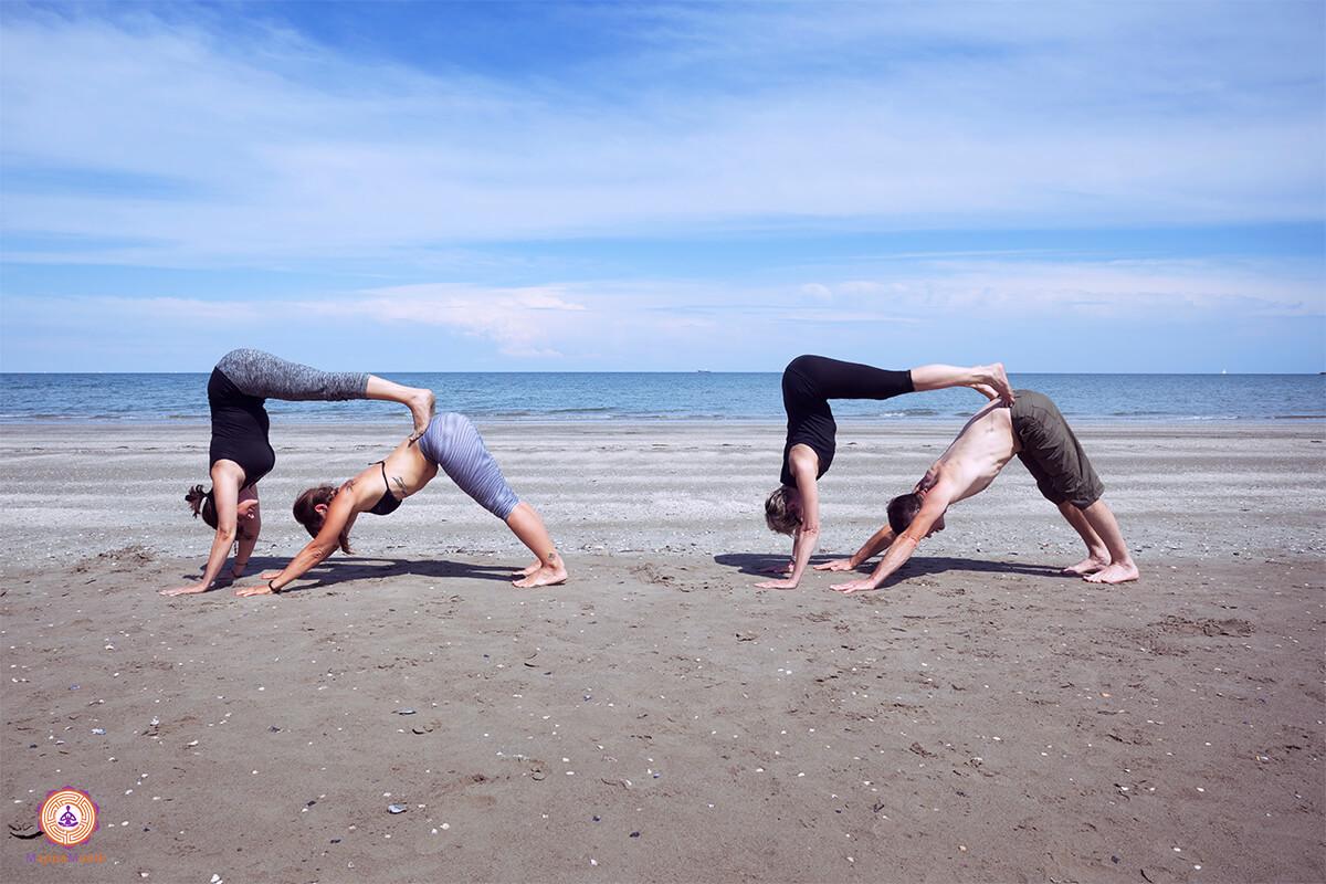 Yoga al mare e in montagna !