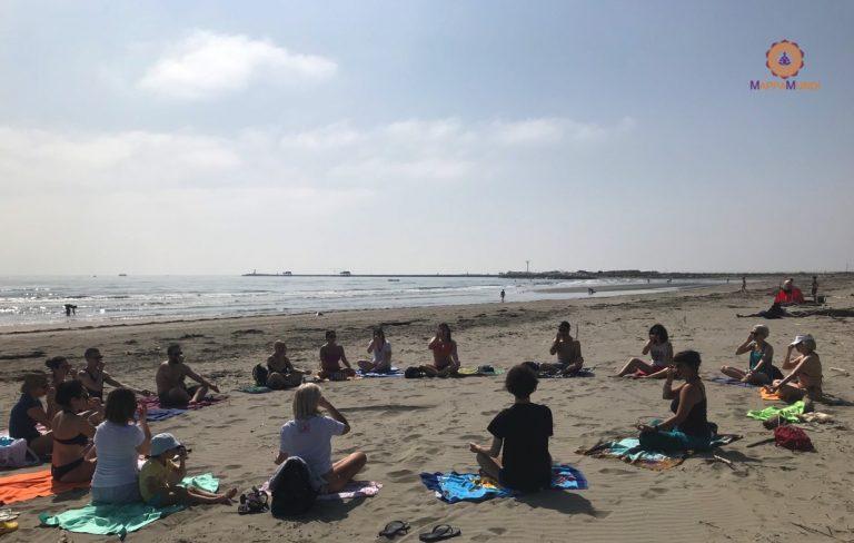 Weekend di Yoga e Mindfulness a Ca Roman Pranayama in Spiaggia