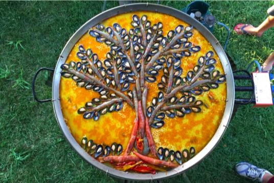 La Paella di Piero per festeggiare MappaMundi Yoga