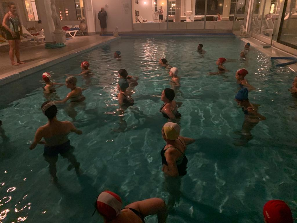 Water Yoga: MappaMundi Yoga in Acqua termale