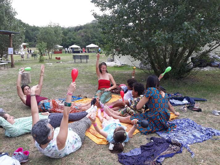 MappaMundi Yoga Genitori Bimbi al Parco
